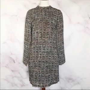 H&M | Tweed And Sequin Sheath Dress